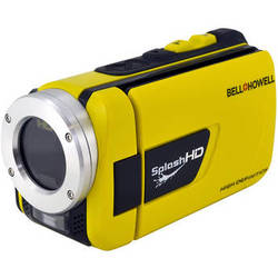 Bell & Howell WV30HD SplashHD Waterproof Camcorder (Yellow)