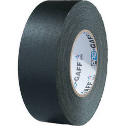 "Visual Departures 2"" Wide Gaffer Tape (55 yards, Black)"