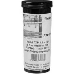 Rollei ATP1.1 Advanced Technical Pan Black and White Negative Film (120 Roll Film, 5 Pack)