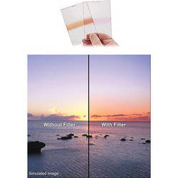 Singh-Ray 130 x 177.8mm 0.6 Neutral Density Pink Strip Filter