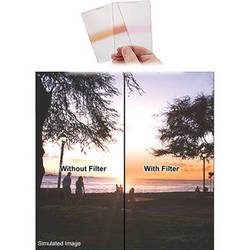 Singh-Ray 150 x 225mm 0.9 Neutral Density Orange Strip Filter