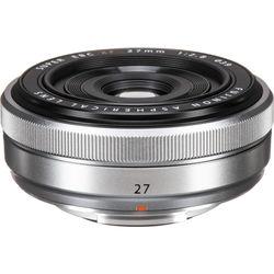 Fujifilm XF 27mm f/2.8 Lens (Silver)