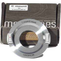 Metabones C-Mount Lens to Sony NEX Camera Lens Mount Adapter (Chrome)