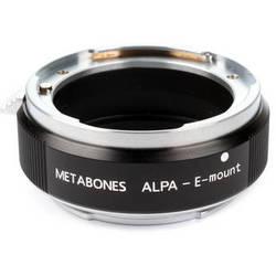 Metabones Alpa Mount Lens to Sony NEX Camera Lens Mount Adapter (Black)