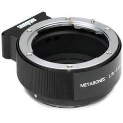 Metabones Leica R Mount Lens to Sony NEX Camera Lens Mount Adapter II (Black)