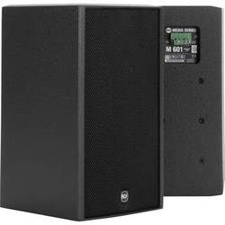 """RCF 2-Way 6.5"""" Woofer & 1"""" HF Passive Speaker with Installation Points (100W RMS, Black)"""