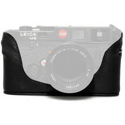 Black Label Bag Half Case for Leica M4, M6, M7, or MP Camera (Black)