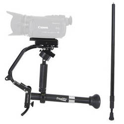 VariZoom Stealthy Camera Support with Extended Monopod Kit