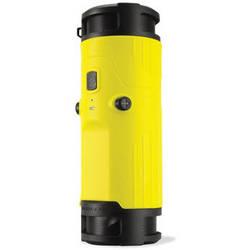 Scosche boomBOTTLE Rugged Weatherproof Wireless Mobile Speaker (Yellow/Black)