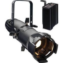 ETC Source Four Jr Zoom 25 to 50° Ellipsoidal Lighting Fixture with Dimmer (Stage Pin Connector, White)