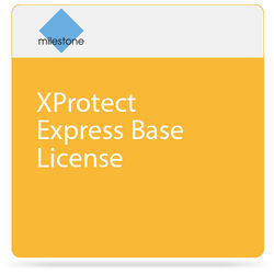 Milestone XProtect Express Base License with 2 Camera Licenses