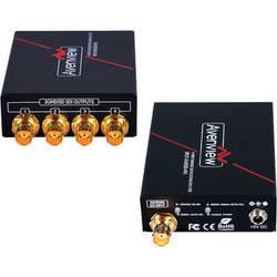 Avenview 4-Port 3G/HD/SD-SDI Splitter