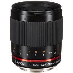 Rokinon Reflex 300mm f/6.3 ED UMC CS Lens for Sony E Mount (Black)