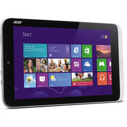 "Acer 64GB 8.1"" Iconia W3 Tablet with MS Office Home & Student 2013"