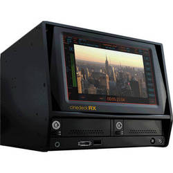 Cinedeck RX3G/AES Multi-Format Multi-Channel Recorder, Monitor, and Playback System