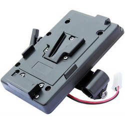 Cavision Horizontal V-Lock Battery Mount for with 19mm Rods Bracket