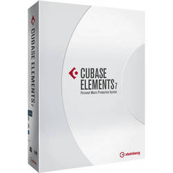 Steinberg Cubase Elements 7 Music Production Software