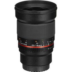 Samyang 16mm f/2.0 ED AS UMC CS Lens for Canon EF-M Mount