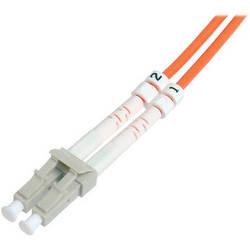 Camplex Duplex LC to Duplex LC Multimode Fiber Optic Patch Cable (3.28', Orange)