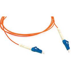 Camplex Simplex LC to LC Multimode Fiber Optic Patch Cable (Orange, 16.4')