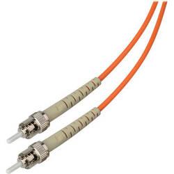 Camplex Simplex ST to ST Multimode Fiber Optic Patch Cable (Orange, 16.4')