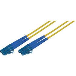 Camplex Duplex LC to Duplex LC Singlemode Fiber Optic Patch Cable (Yellow, 98.42')