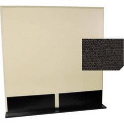 Auralex ProGo Portable Freestanding Acoustic Panel with Floorstands (4 x 4', Obsidian)
