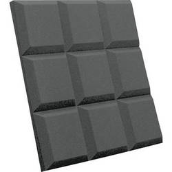 Auralex SonoFlat Grid Sound Absorption Panels 16-Pack (Charcoal Gray)