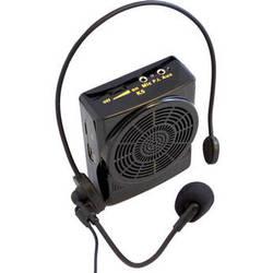 HamiltonBuhl 15W Waistband Amplifier with Head-Worn Microphone, TF Card Slot, & USB Port