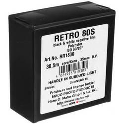 Rollei Retro 80S Black and White Negative Film (35mm Roll Film, 100' Roll)
