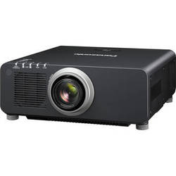 Panasonic 1-Chip 8,500 Lumens DLP Projector (with Lens, Black)