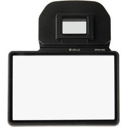 Vello Snap-On Glass LCD Screen Protector for Canon 6D