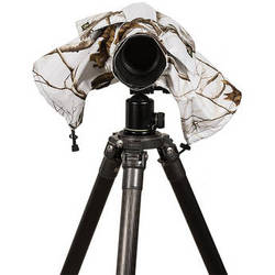 LensCoat RainCoat 2 Standard Camera Cover (Realtree AP Snow)