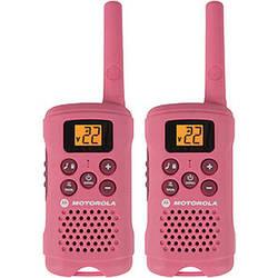 Motorola MG167A Talkabout Two-Way Radio (Pair, Pink)