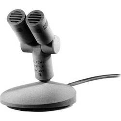 Schoeps T2 CCM 4Lg Double Tabletop Microphone with Integral Desk Stand