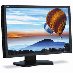 "NEC PA242W-BK 24"" Professional Wide Gamut LED Desktop Monitor"