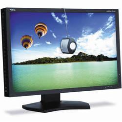 "NEC PA242W-BK-SV 24"" Professional Wide Gamut LED Desktop Monitor"