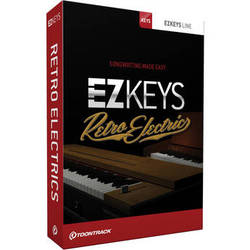 Toontrack EZkeys Retro Electrics Virtual Instrument Plug-In