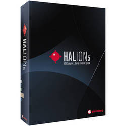Steinberg HALion 5 - Virtual Sampler and Sound Creation Software (Educational Discount)
