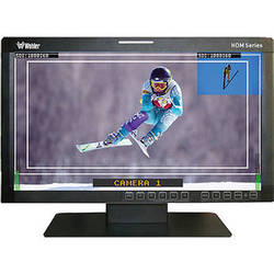 "Wohler HDM-170-3G-RM 17"" Dual Split Screen High Definition LCD Monitor"