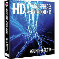 Sound Ideas Atmospheres & Environments HD Sound Effects Hard Drive