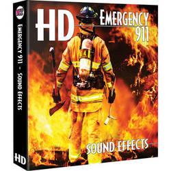 Sound Ideas Emergency 911 HD Sound Effects Hard Drive