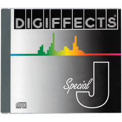 Sound Ideas Digiffects Series J Special Sound Effects Audio CD Package
