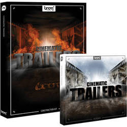 Sound Ideas CD ROM & DVD ROM: Cinematic Trailers HD Sound Effects Library Bundle