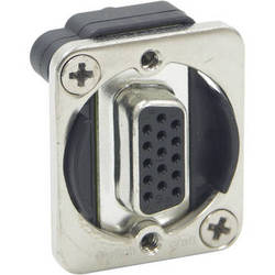 Switchcraft EH Series VGA Female to Female Connector (Nickel)
