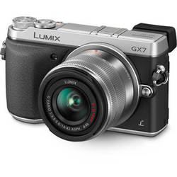 Panasonic Lumix DMC-GX7 Mirrorless Micro Four Thirds Digital Camera with 14-42mm f/3.5-5.6 Lens (Silver)