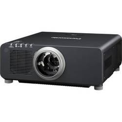 Panasonic 1-Chip 8,500 Lumens DLP Projector (without Lens, Black)
