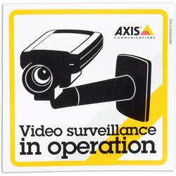 Axis Communications Surveillance Sticker (10-Pack)