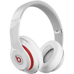Beats by Dr. Dre Studio 2.0 Over-Ear Wired Headphones (White)
