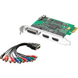 Blackmagic Design Intensity Pro HDMI and Analog Editing Card - PCI Express